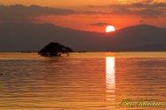 Lake Biwa sunset