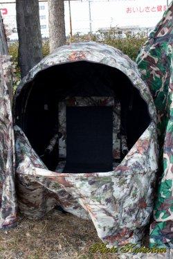 輸入 椅子付きブラインドテント