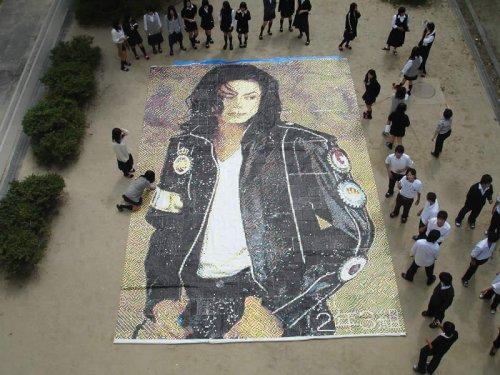 2009 長女のクラス 文化祭出展作品 MJ