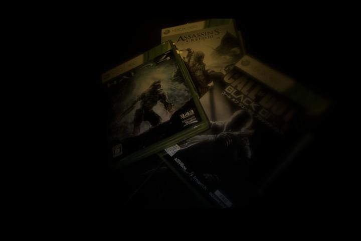 2012秋 X-box360 ゲーム