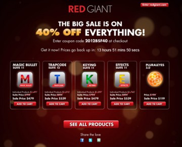 Red Giant 40% OFF