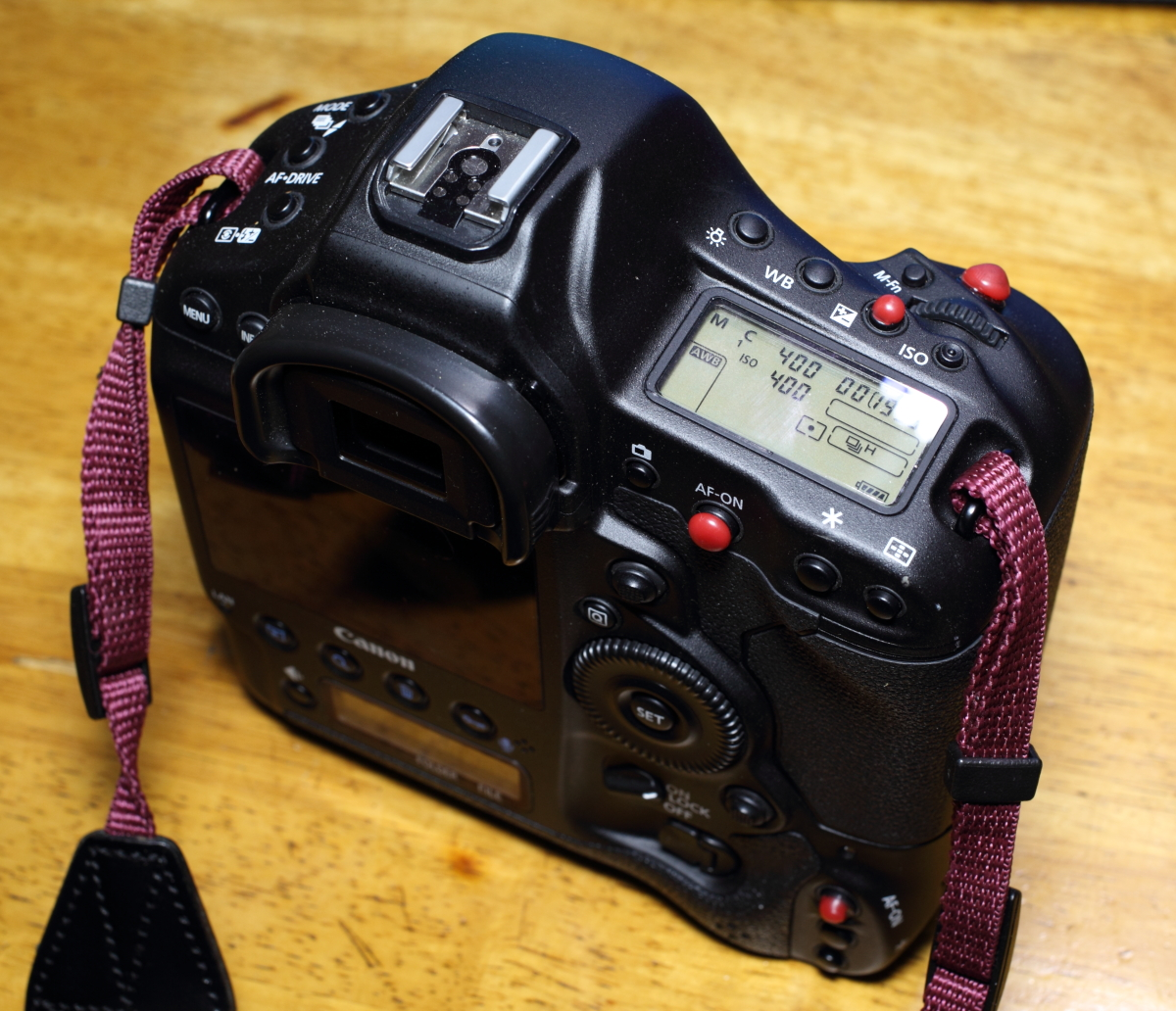 Canon シャッターボタン改造