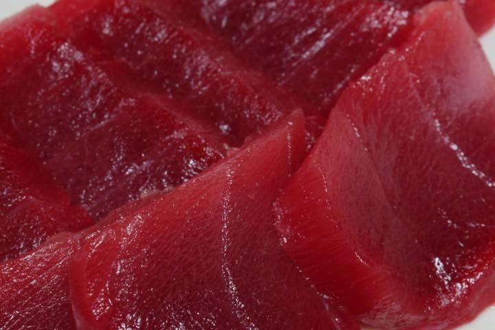 キハダマグロ 地脂 (Yellowfin tuna TORO)