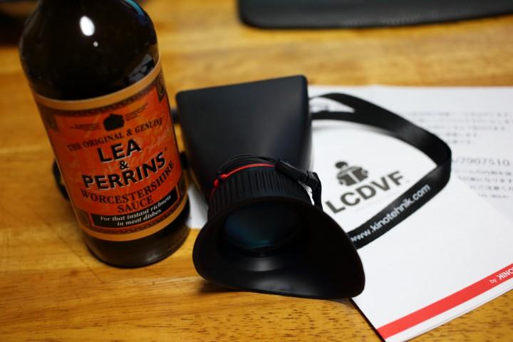 LEA & PERRINS(ウースターソース) と LCDVF3C(カメラ機材)