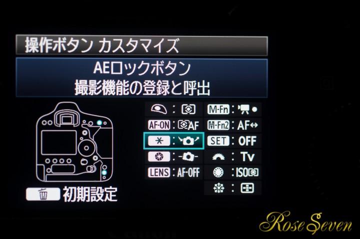 1DX 操舵ボタン カスタマイズ