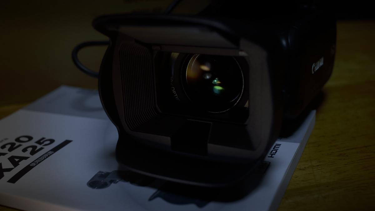 Canon XA20 導入