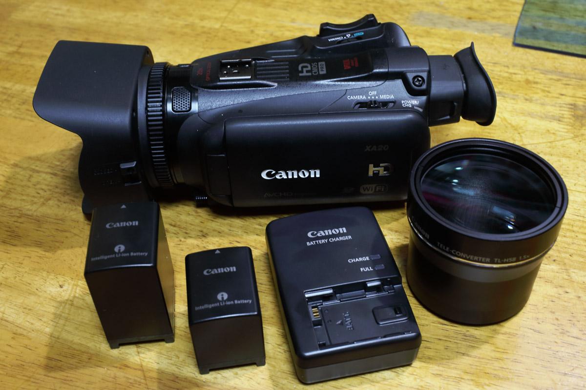 Canon XA20 私的フルセット