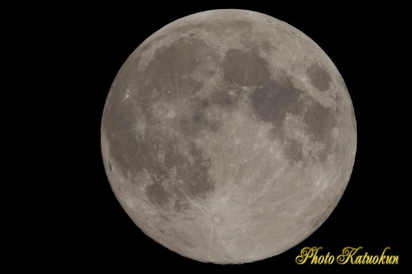 近い遠い月