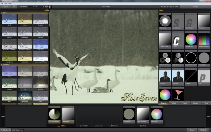 Magic Bullet PhotoLooks 画像比較