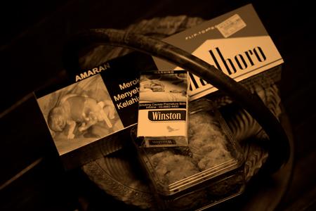 海外のタバコパッケージ