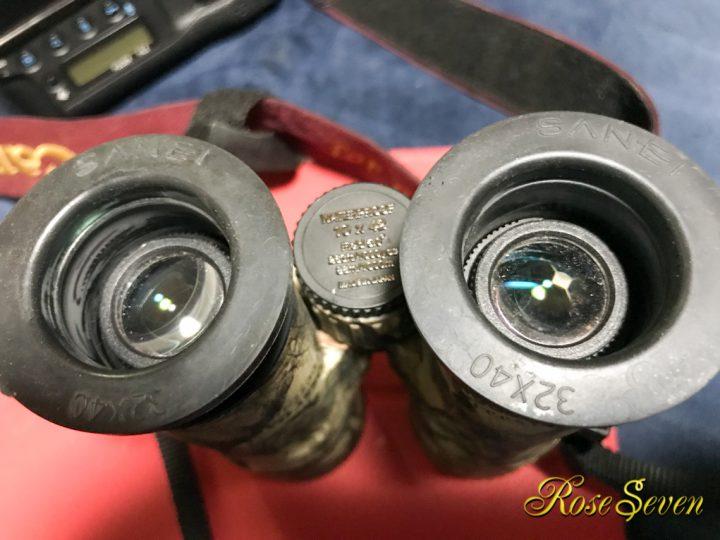 双眼鏡 アイカップの修理
